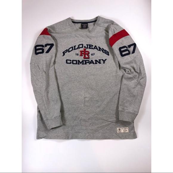 cf1ddbfa Polo by Ralph Lauren Sweaters   Vintage Polo Jean Co Long Sleeve ...